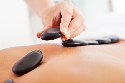 Hot und cold Stone Massage